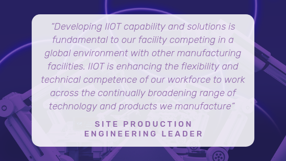 A Testimonial for the IIoT work undertaken by Irish Manufacturing Research