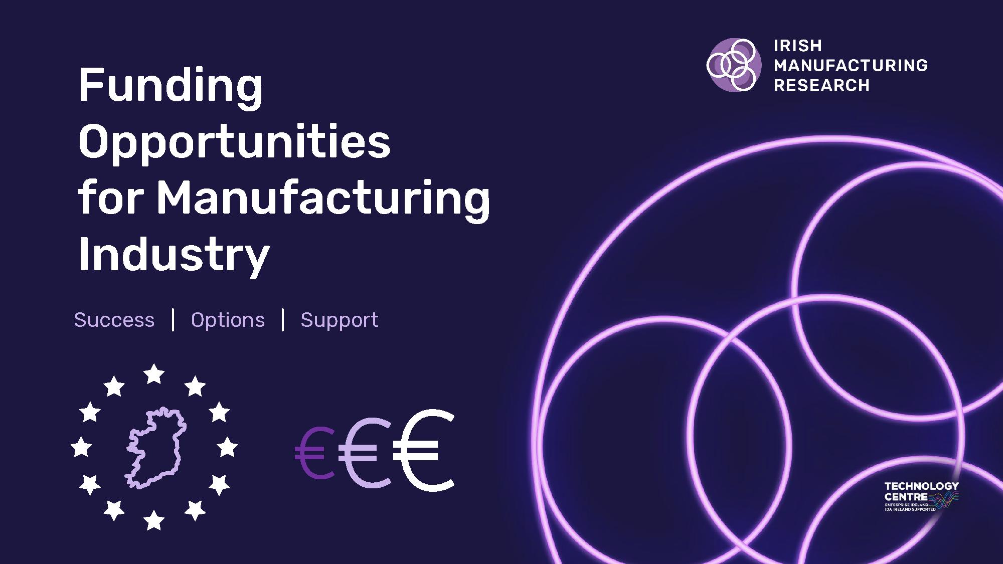 EU Programmes Funding Opportunities
