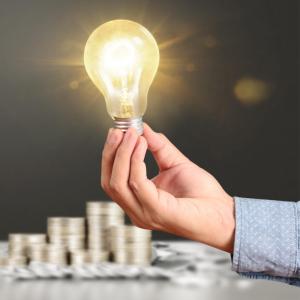 EU Funding Opportunities lightbulb Icon
