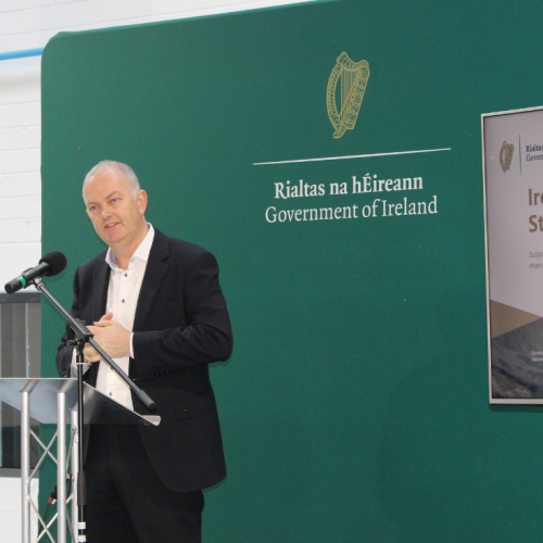 Barry at Ireland Industry Strategy Launch in IMR Mullingar 2019