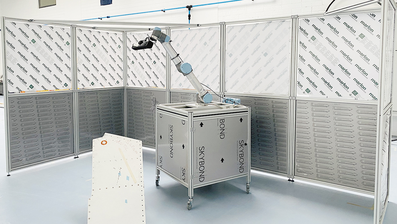 Image of Robotic Cell used in MAAS project