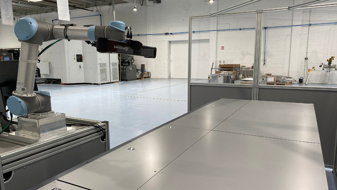 Robotic Arm Measuring Wing for MAAS project
