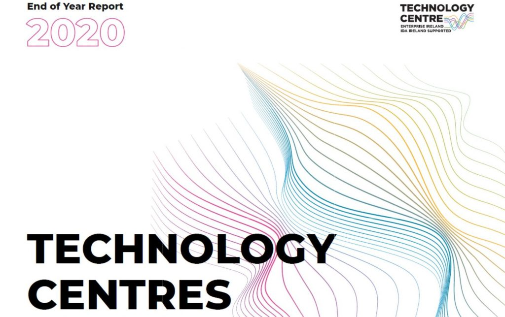 Press Release: Technology Centres played a pivotal role in Ireland's fight against Covid-19 Eight centres bridge gap between research and industry